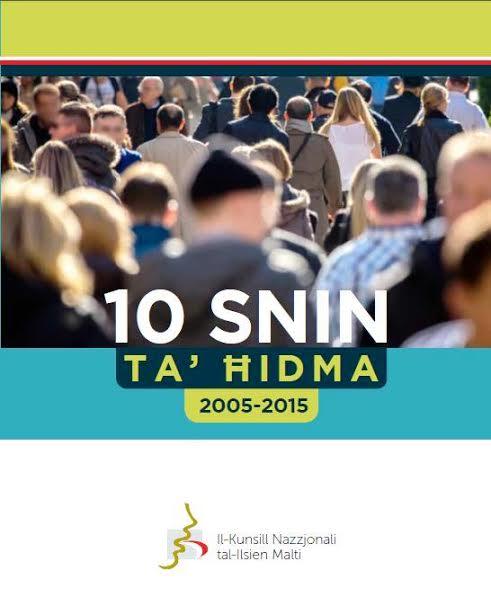 10 Snin ta' Ħidma - Kunsill Nazzjonali tal-Ilsien Malti