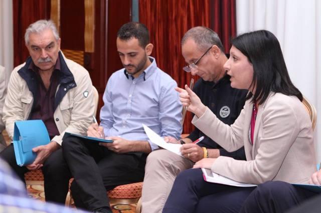 Diskussjoni f'wieħed mill-gruppi ta' ħidma waqt il-Forum Nazzjonali