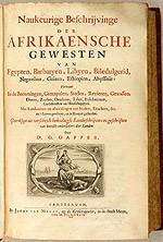 Il-ktieb ta' Dapper (1668)