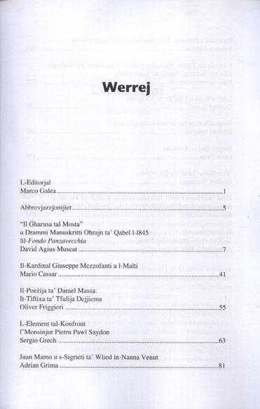 Werrej Il-Malti (2007) a